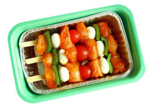 Hähnchen Gourmetspieße Tomate-Mozzarella Art.-Nr.: 316043